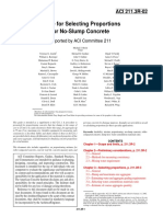 ACI 211.3R.02 Guide For Selecting Propotions For No-Slump Concrete