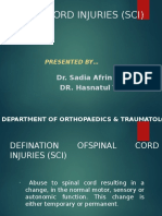 spinal cord injuries (SCI)