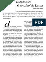 A Arte do Diagnóstico (O rouxinol de Lacan) - Miller.pdf