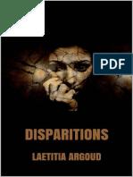 Disparitions - Laetitia Argoud