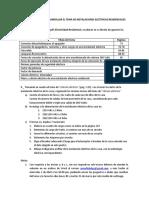 INSTRUCCIONES PARA DESARROLLAR EL TEMA DE INSTALACIONES ELÉCTRICAS RESIDENCIALES-2