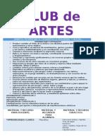 club de artes completo