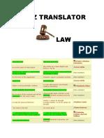 PROZ TRANSLATOR LAW