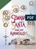 REVISTA SEMANA SANTA ALMENDRALEJO 2020
