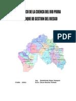 Diagnóstico de la Cuenca del Río Piura con Gestión de Riesgo
