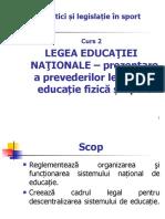 Legea educatiei nationale 13 03 2020