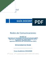 Guía docente - Redes de Comunicaciones