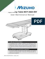 MOT-5602BW Maintenance Manual