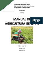 Manual Agricultura General