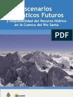 Escenarios Climáticos Futuros y disponibilidad del recurso hídrico en la Cuenca del Río Santa