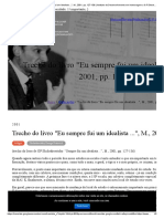 Trecho Do Livro _Eu Sempre Fui Um Idealista ..._, M., 2001, Pp. 127-136 _ Instituto de Desenvolvimento Em Homenagem a G.P.shedrovitsky