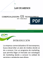 PLAN DE MEDIOS , PUBLICIDAD