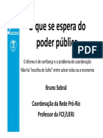 Bruno Sobral - O que se espera do Poder Público