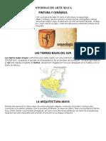 10 FORMAS DE ARTE MAYA