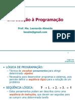 Aula1-Algoritmos_Introdução à Programação