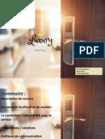 Présentation marketing des services NOUVEAU