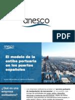 El modelo de estiba portuaria en los puertos españoles