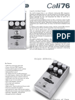 Origin-Effects-Cali76-Compact-Bass-Owners-Manual-Guitar-Pedal