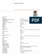 SSC Man Application Details
