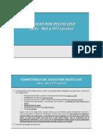 (4) EL JUICIO POR DELITO LEVE
