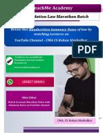 Foundation law Handwritten Summary & Case Studies
