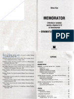 Memorator Romana 9-12 Dramaturgia Si Poezia - Alina Ene