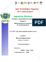 UNIDAD 2. PRUEBAS Y MANTENIMIENTO ELECTRICO-DANIEL MONROY VÁRGUEZ
