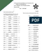 Evidence-Regular and Irregular Verbs Worksheet 3