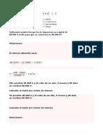 EJERCICIOS DE INTERES SIMPLE Y COMPUESTO CLASE 2902