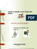 how to work my english    book
