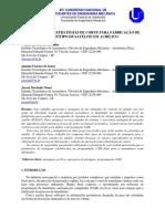 DEFINIÇÕES DE ESTRATÉGIAS DE CORTE PARA FABRICAÇÃO DE PROTÓTIPO DE SATÉLITE EM ACRÍLICO