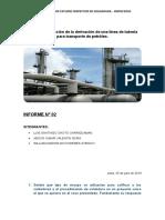 Construcción de la derivación de una línea de tubería para transporte de petróleo.