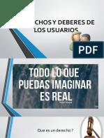 DERECHOS Y DEBERES DE LOS USUARIOS 1