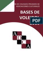 BASES DE VOLEIBOL 2016