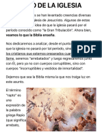 ¿Cuándo ocurrirá el Rapto o Arrebatamiento de la Iglesia?¤ [Verdad Revelada]