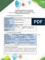 Guía de actividades y rúbrica de evaluación - Paso 1 - Realizar diagnostico Linea Base de un Agroecosistema Ganadero.docx