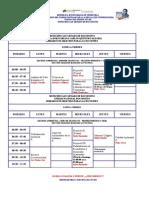 Horario Secciones de Ubv Gest Amb 2010 II