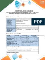 Evolución histórica de los sistemas para la planeación de requerimiento de recursos-ERP