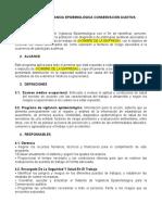 PROGRAMA  VIGILANCIA EPIDEMIOLÓGICA CONSERVACIÓN AUDITIVA