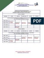 Horario Secciones de Ingenieria de Sistemas 2010 II