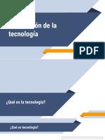 1. Asimilación de la tecnología