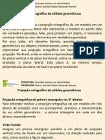 Desenho técnico em Eletricidade - Projeção Ortográfica - Sólidos Geométricos.pdf