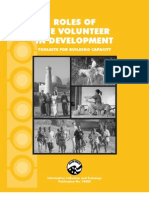 Peace Corps Role of the Volunteer in Development (PC RVID)