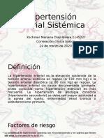 Hipertension Arterial- Xochmar Diaz