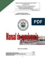 MANUAL DE CONVIVENCIA LORENCITA VILLEGAS DE SANTOS  VERSION 2019