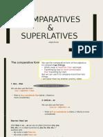 Comparative & superlative adj.