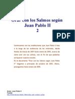 Orar Con Los Salmos Segun Juan Pablo II2