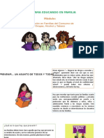 DIAPOSITIVAS - EDUCANDO FAMILIA- PREVENCION DROGAS