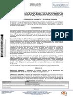 Resolución N° 20201300013447 Modificación Presentación de Estados Financieros