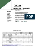Políticas públicas frente al Covid-19 en Latinoamérica